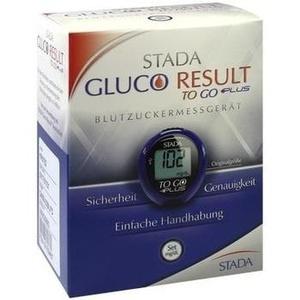 STADA Gluco Result To Go plus Blutzuckermes.mg/dl