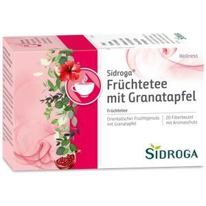 SIDROGA Wellness Früchtetee m.Granatapfel Filterb.