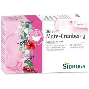 SIDROGA Wellness Mate-Cranberry Tee Doppelkammerb.