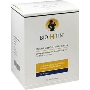 MINOXIDIL BIO-H-TIN Pharma 50 mg/ml Spray Lsg.