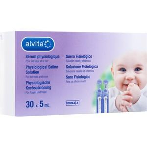 ALVITA physiologische Kochsalzlösung Ampullen