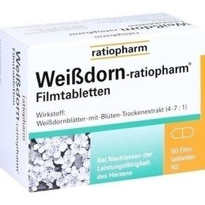 WEISSDORN-RATIOPHARM Filmtabletten