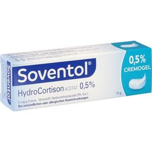 SOVENTOL Hydrocortisonacetat 0,5% Creme