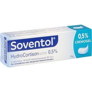 Abbildung von Soventol Hydrocortisonacetat 0.5%  Creme