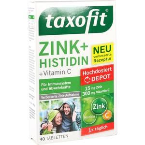TAXOFIT Zink+Histidin Depot Tabletten