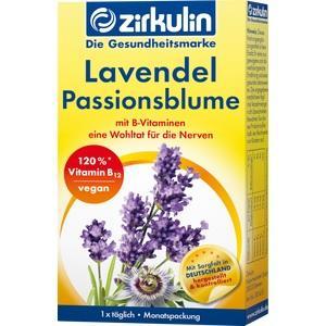ZIRKULIN Lavendel Passionsblume Kapseln