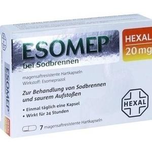 ESOMEP HEXAL bei Sodbrennen 20 mg msr.Hartkapseln