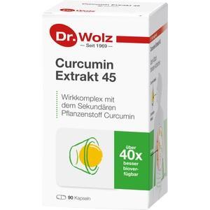 CURCUMIN EXTRAKT 45 Dr.Wolz Kapseln