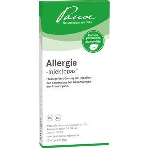 ALLERGIE-INJEKTOPAS Injektionslösung Ampullen