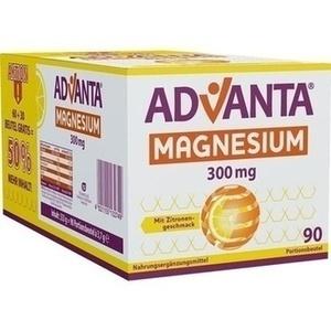 ADVANTA Magnesium 300 mg mit Zitronengeschmack