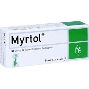 MYRTOL magensaftresistente Weichkapseln