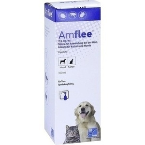 AMFLEE 2,5 mg/ml Spray Lösung f.Hunde/Katzen
