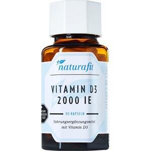 NATURAFIT Vitamin D3 2.000 I.E. Kapseln