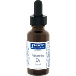 PURE ENCAPSULATIONS Vitamin D2 Liquid