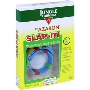 JUNGLE Formula by AZARON SLAP-IT Mückenschutz-Band