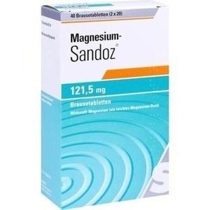 MAGNESIUM SANDOZ 121,5 mg Brausetabletten
