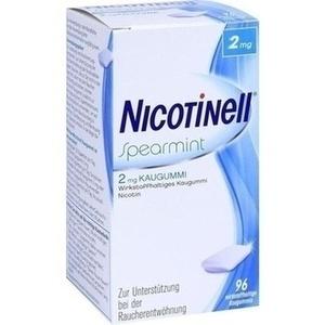 NICOTINELL Kaugummi Spearmint 2 mg