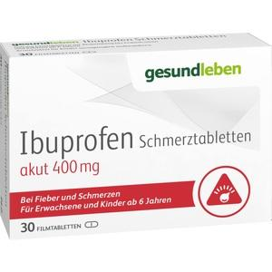 IBUPROFEN Schmerztabletten 400 mg Filmtabletten
