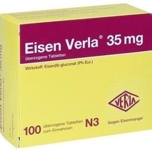 EISEN VERLA 35 mg überzogene Tabletten