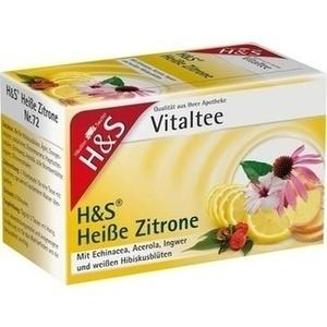 H&S heiße Zitrone Vitaltee Filterbeutel