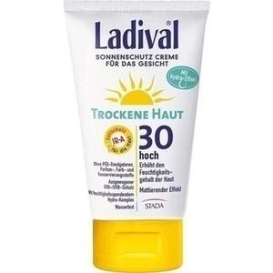 LADIVAL trockene Haut Creme f.d.Gesicht LSF 30