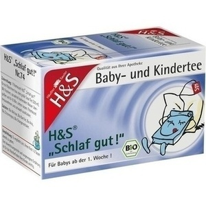H&S Bio Baby- u.Kindertee Schlaf gut Filterbeutel