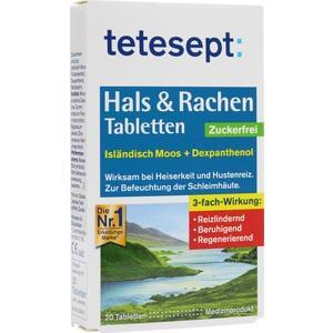 TETESEPT Hals & Rachen Tabletten zuckerfrei