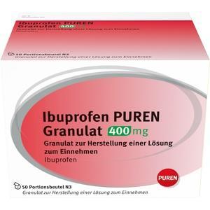 IBUPROFEN PUREN Granulat 400 mg z.Her.e.Lsg.z.Ein.