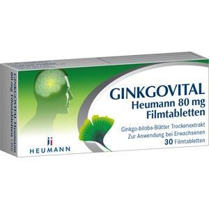 GINKGOVITAL Heumann 80 mg Filmtabletten