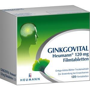 Abbildung von Ginkgovital Heumann 120 Mg Filmtabletten