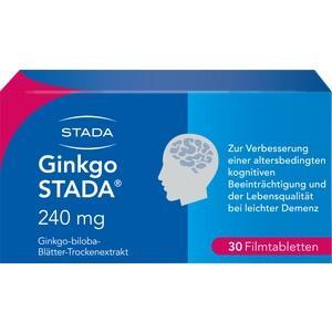 GINKGO STADA 240 mg Filmtabletten