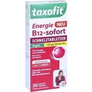 taxofit® Energie B12-sofort Schmelztabletten