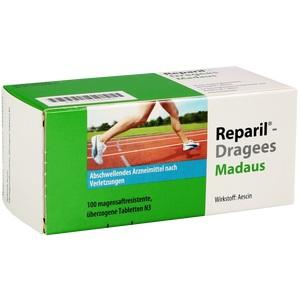 REPARIL-Dragees Madaus magensaftres.Tabletten