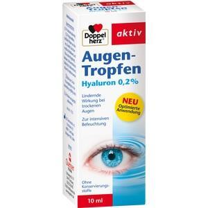DOPPELHERZ Augen-Tropfen Hyaluron 0,2%