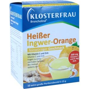 KLOSTERFRAU Broncholind heißer Ingwer-Orange Gran.