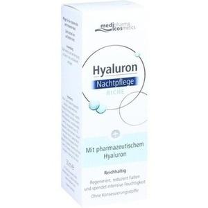 HYALURON NACHTPFLEGE riche Creme