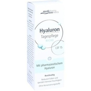 HYALURON TAGESPFLEGE riche Creme LSF 15