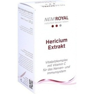 Abbildung von Nem Royal Hericium Extrakt  Kapseln
