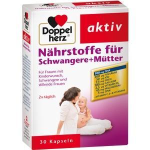 DOPPELHERZ Nährstoffe für Schwangere+Mütter Kaps.
