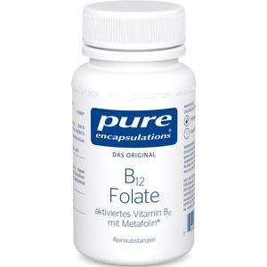PURE ENCAPSULATIONS B12 Folate Kapseln