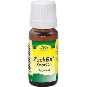 Zeckex SpotOn Repellent f.Hunde/Katzen, 10ml