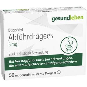 Bisacodyl Abführdragees 5mg