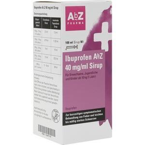 IBUPROFEN AbZ 40 mg/ml Sirup