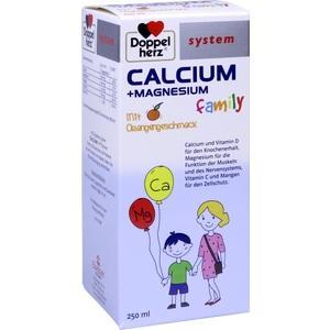 DOPPELHERZ Calcium+Magnesium family system flüssig