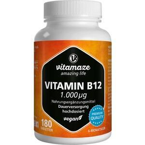VITAMAZE Vitamin B12 1.000 μg Tabletten