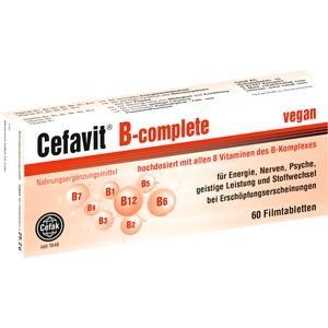 CEFAVIT B-complete Filmtabletten
