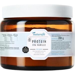 NATURAFIT Protein 136 Vanille Pulver