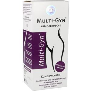 MULTI-GYN Vaginaldusche Kombipack Brausetabletten