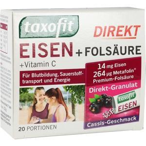 TAXOFIT Eisen+Folsäure Direkt-Granulat