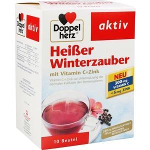 DOPPELHERZ heißer Winterzauber Granulat Portionsb.